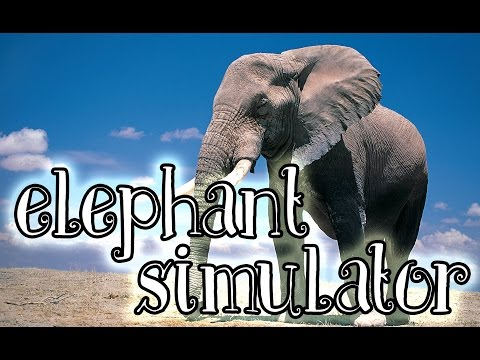 Elephant Simulator (iOS, Android) Gameplay #1