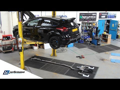 EUROPES FIRST FORD FOCUS RS - ARMYTRIX EXHAUST WITH DECAT - CRAZY LOUD SOUNDS