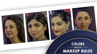 Makeup Rules Broken - Bollywood Celebrities Edition | Filmfare Glamour And Style Awards 2019