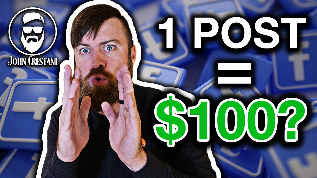 Make $100 A Day Posting Jobs On Facebook (Anyone Can Do This)