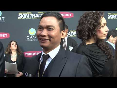 Skin Trade: Tony Jaa Exclusive Premiere Interview / การค้า ผิวหนัง: โทนี่จา Premiere สัมภาษณ์พิเศษ