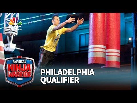 Joe Moravsky at the Philadelphia Qualifier - American Ninja Warrior 2016
