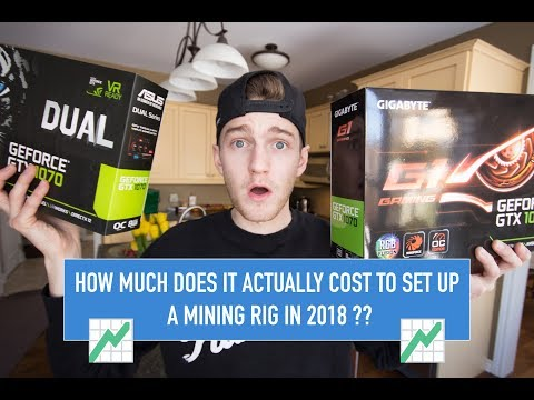 How Much Does It ACTUALLY COST To Mine Ethereum In 2018?? (Mining Rig Setup)