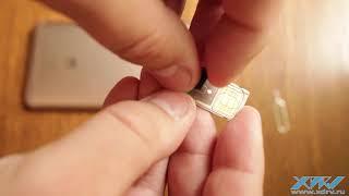 Как вставить SIM-карту в Huawei Y7 (XDRV.RU)