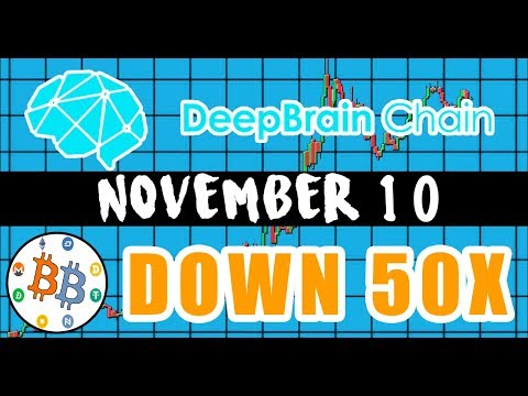 THIS COIN IS DOWN OVER 50X (NEO PARTNER) - DEEP BRAIN CHAIN