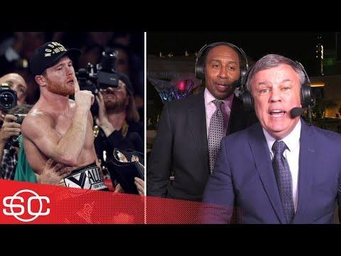 Stephen A. Smith, Teddy Atlas sound off on Canelo Alvarez-Gennady Golovkin 2 | SportsCenter | ESPN