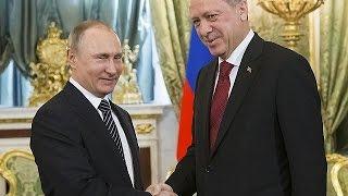 Cumhurbaşkanı Erdoğan Türkiye-Rusya Üst Düzey İşbirliği Konseyi toplantısı için Moskova'da