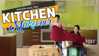 Unboxing Amazon Haul & Kitchen Reorganisation| Small Budget Decor & Makeover| Vlog | Sushma Kiron