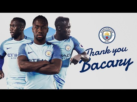 Bacary Sagna Leaves Manchester City | Best Bits | #ThankYouBacary