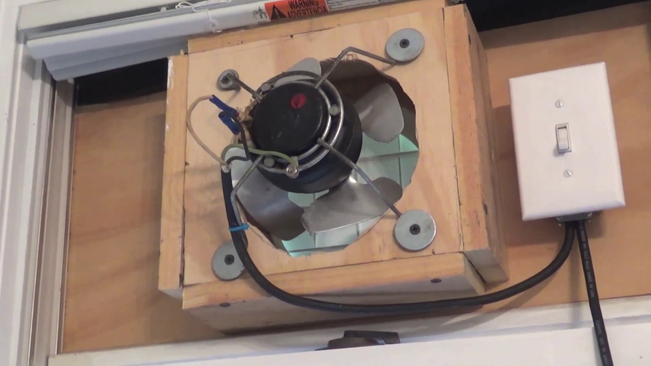 New Bathroom Exhaust Fan Installed Youtube How To Wire A