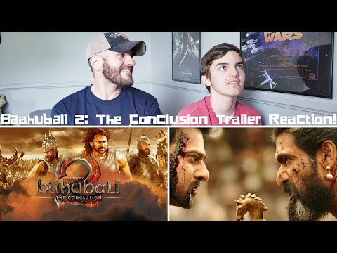 Baahubali 2: The Conclusion Trailer Reaction!