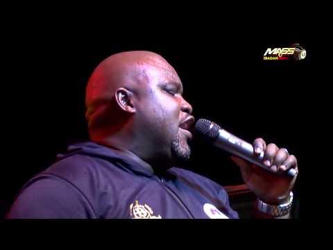 Big Bolaji raising the praise at MASS 5.0 Concert Ibadan