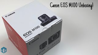 Canon EOS M100 Unboxing! New Camera For The Channel!