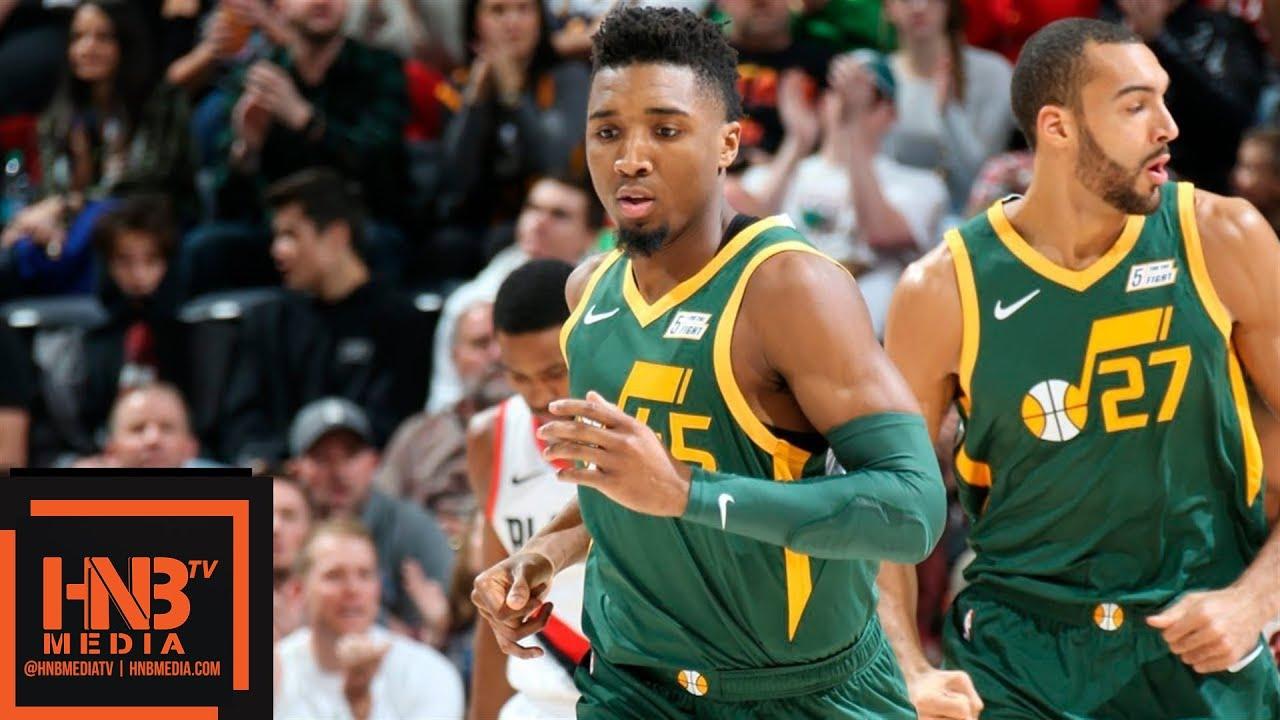 Utah Jazz vs Portland Trail Blazers Full Game Highlights  1e52be908