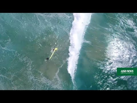 Australia lifesaving drone makes first rescue