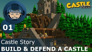 BUILD DEFEND A CASTLE - Castle Story Ep. 1 - Gameplay Walkthrough