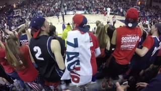 Gonzaga Basketball Student Section (Full Zombie Nation)