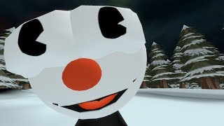 Cuphead in Undertale (SFM Animation)