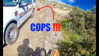 MY FIRST POLICE CHASE!!!