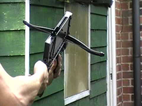 part 2 prototype pump-action tactical crossbow - YouTube