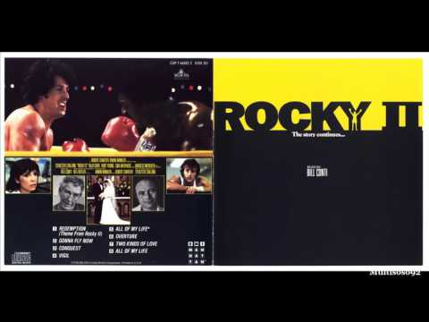Bill Conti - Rocky II Soundtrack - Overture (Short version) (1979)
