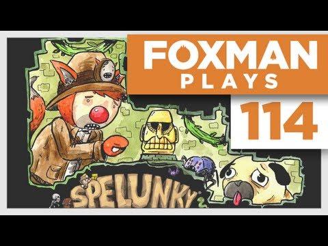 Foxman Plays: Spelunky - Episode 114 - Slice