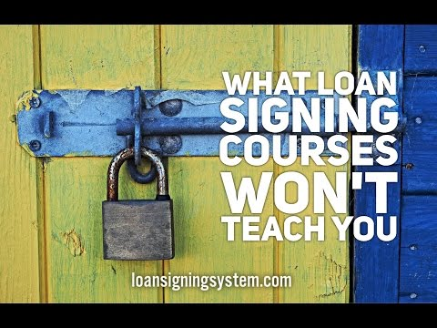 What Notary Loan Signing Courses & Certifications WON'T Teach You: How to Get Direct Loan Signings