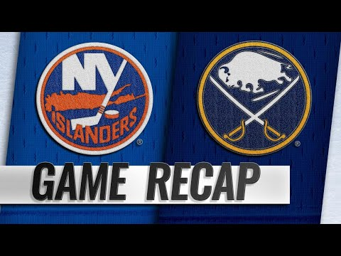 Eichel, Sabres down Islanders in 3-1 victory