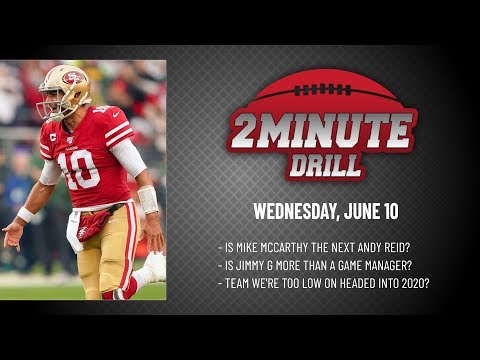 JIMMY G IS MORE THAN  A GAME MANAGER | 2 Minute Drill: Wednesday, June 10 | PFF