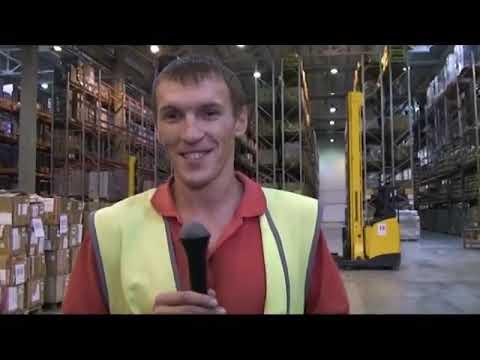 Работа вахтой на складе