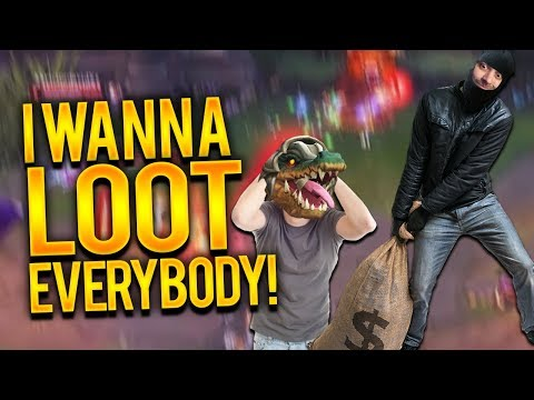 I WANNA LOOT EVERYBODY!!!! | KLEPTO DYR TOP VS RENEKTON - Trick2G