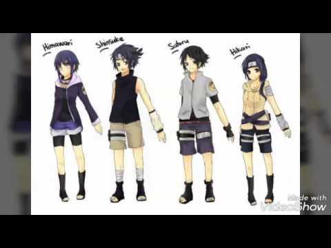Sasuke and hinata family - YouTube