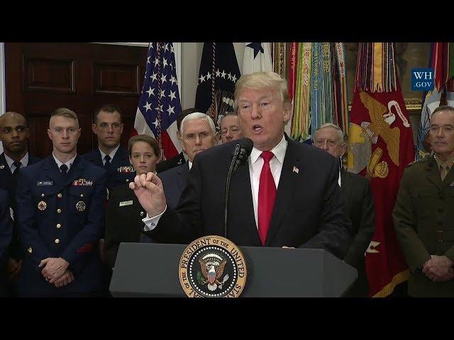 Vì Sao Trung Cộng Hoảng Sợ Dự Luật Quốc Phòng 2019 Của Mỹ?