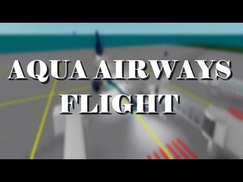 Aqua Airways Flight! - Pnjlife