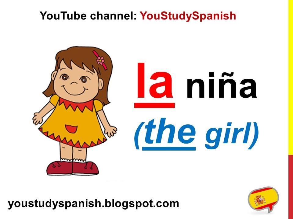 Spanish Lesson 10 - DEFINITE and INDEFINITE Articles in Spanish ...