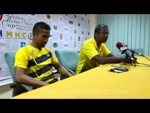 Malaysia draw with Korea at the 2014 Sultan Azlan Shah Cup. Coaches interview