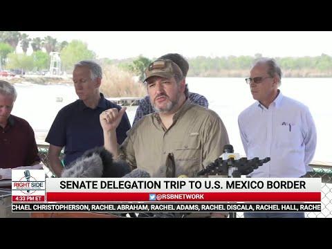 ? LIVE: Senators Cruz, Cornyn Lead Senate Delegation Boat Tour Along U.S. Mexico Border