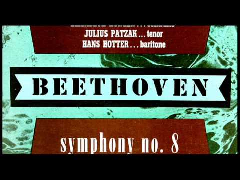 Beethoven / Herbert von Karajan, 1952: Symphony No. 8 in F Major, Op. 93 - VPO, Entre LP