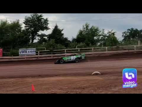 Dirt Late Model Testing I-77 Speedway