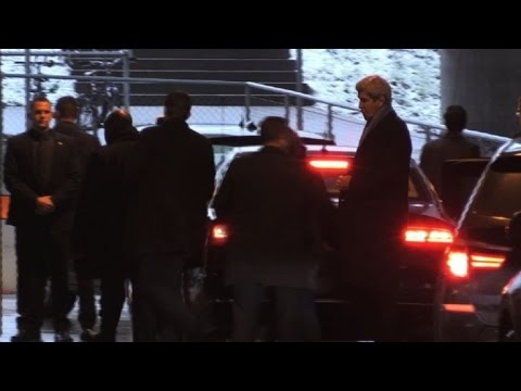 Syria: Kerry arrives in Zurich to meet Lavrov