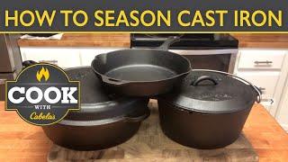 Two Ways to Season New Cast Iron