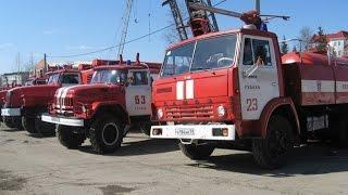 Выставка-демонстрация пожарной техники Губаха