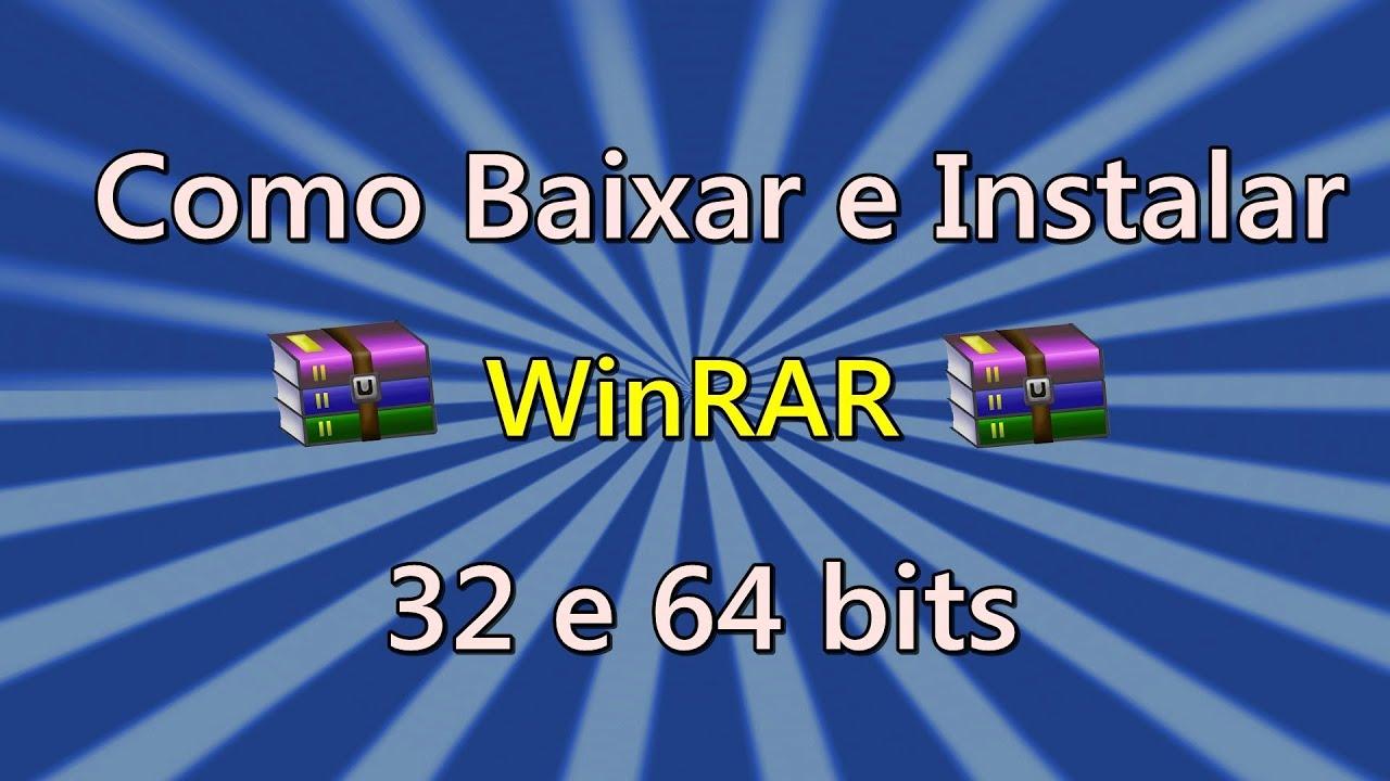 baixar winrar 64 bits portugues