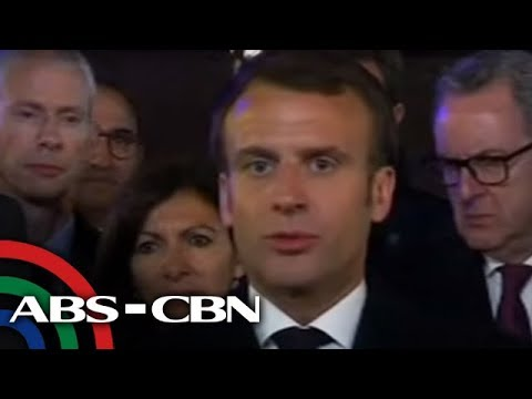 Notre-Dame to be rebuilt after fire, says French President Macron | ANC