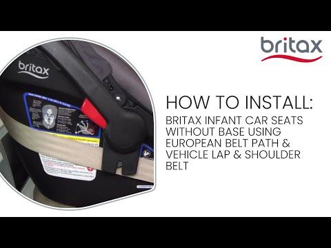 Britax B Safe Gen2 Flexfit Infant Car, Britax B Safe 35 Car Seat Installation Without Base