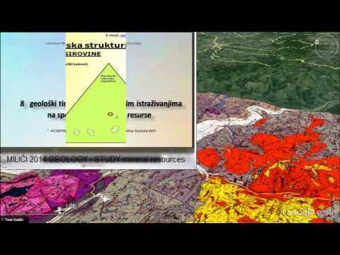 GEOLOGIJA - Miroslav TODOROVIC MILIĆI 2015  GEOLOGY STUDY mineral resurces