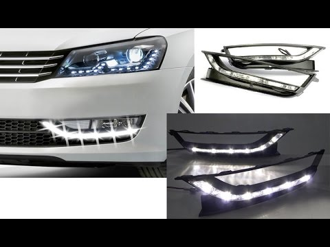 2012-up Volkswagen Passat 6 LED Daytime Running Lights