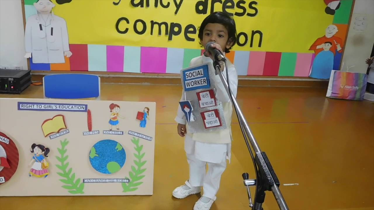 delhi public gbn pre nursery fancy dress competition