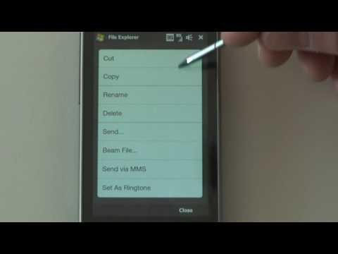 Dateiexplorer HTC Touch Diamond2