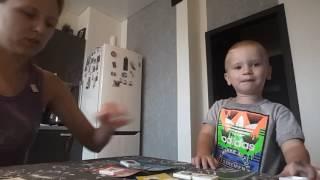 Дим Димыч играет в лото. Занятия с ребенком в 2 года дома. Приучение к усидчивости.